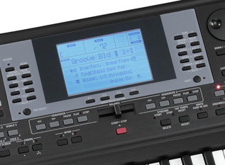 KORG microARRANGER Digital Piano control 2