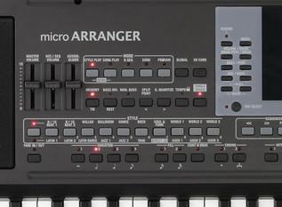 KORG microARRANGER Digital Piano control 3