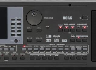 KORG microARRANGER Digital Piano control 4