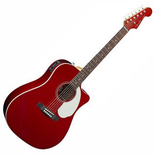 Fender Sonoran SCE Guitar, Candy Apple Red