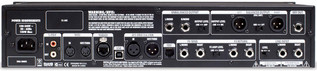 Line 6 POD HD Pro Rack Multi-effect Processor back