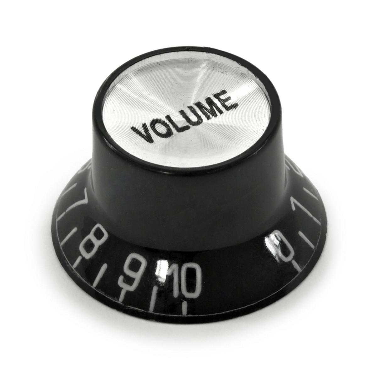 guitarworks guitar volume control knob top hat at gear4music. Black Bedroom Furniture Sets. Home Design Ideas