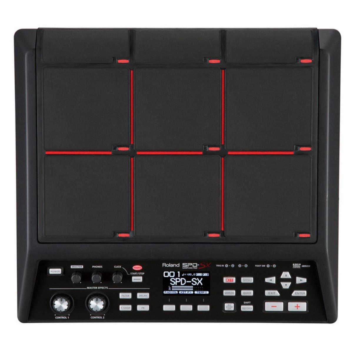 roland spd sx sampling pad at gear4music