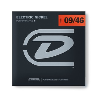Dunlop Electric Guitar Strings, Nickel Wound, Light/Heavy 9-46