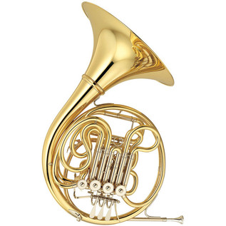 Yamaha YHR-667D Professional Full Double French Horn, Detachable Bell
