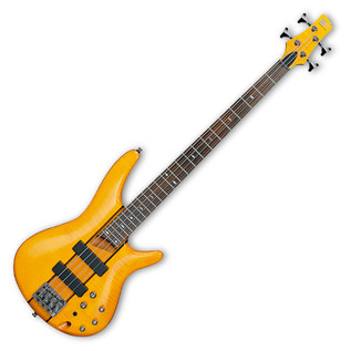 Ibanez SR700 Bass Guitar, Amber