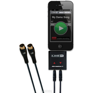 Line 6 MIDI Mobilizer II for iPhone 4 and iPad main