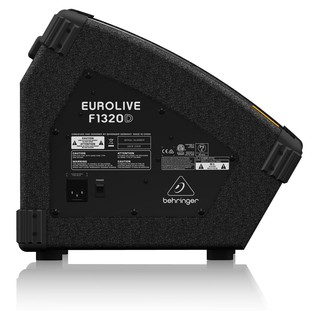 Behringer F1320D Eurolive Wedge Monitor, Rear