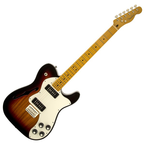 Fender Modern Player Telecaster Thinline Deluxe 3 Colour Sunburst At Gear4music