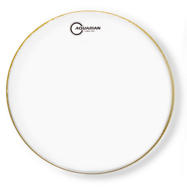 "Aquarian Force Ten 16"" Clear Drum Head"