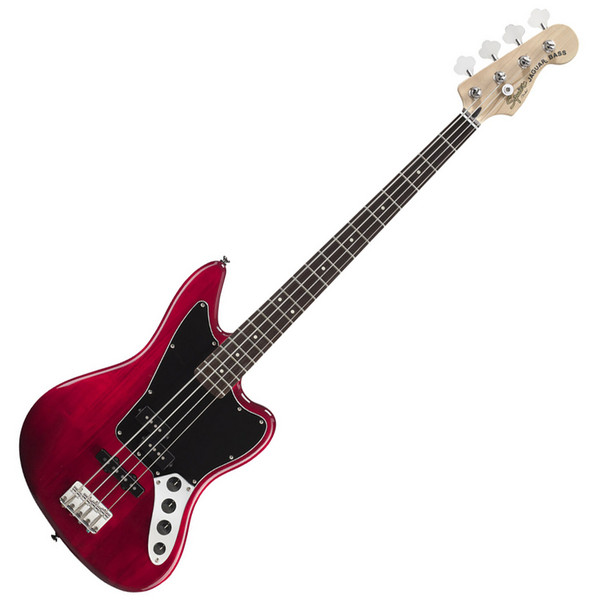 Squier by Fender Vintage Modified Jaguar Bass Special, Crimson Red