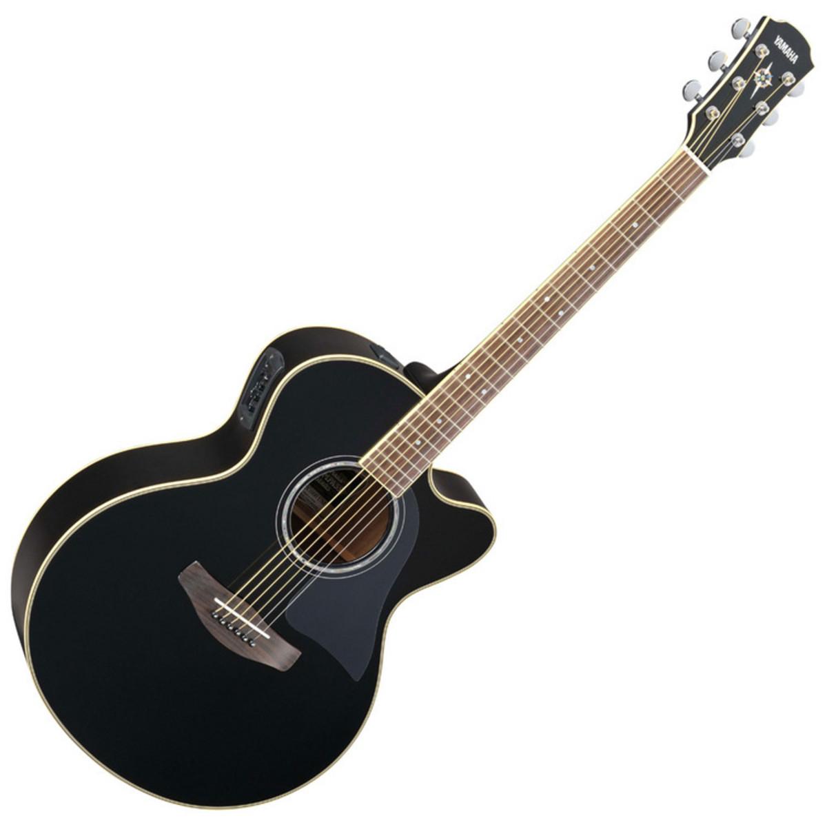 disc guitare electro acoustique yamaha cpx700ii noir. Black Bedroom Furniture Sets. Home Design Ideas