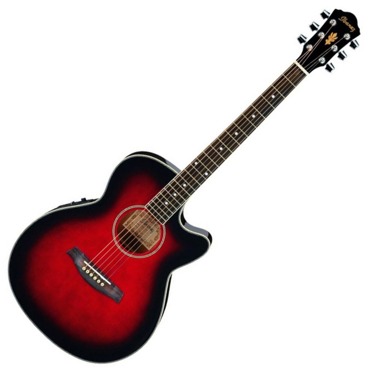 disc ibanez aeg5e electro acoustic guitar jampack in trans. Black Bedroom Furniture Sets. Home Design Ideas