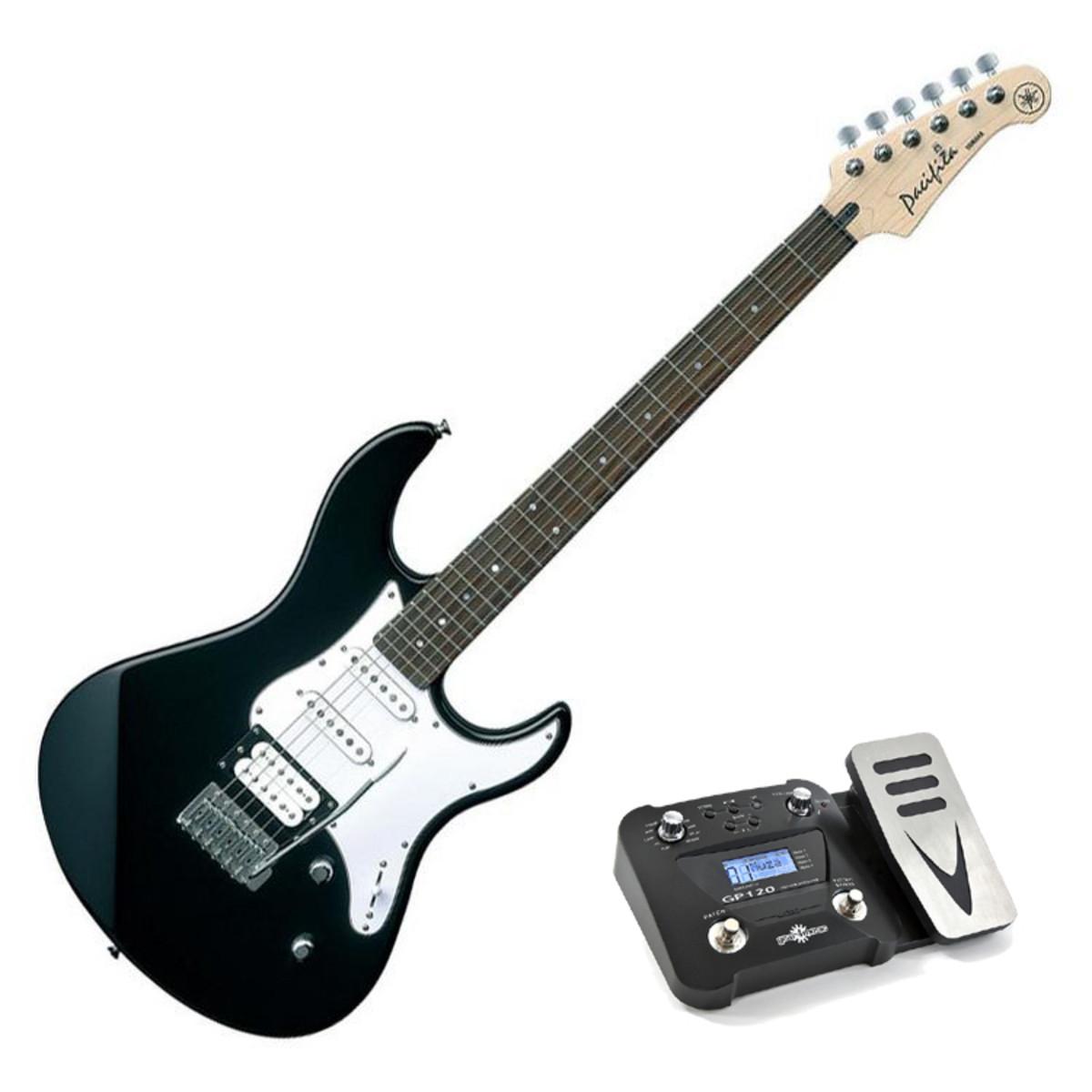 disc yamaha pacifica 112 v electric guitar black pedal pack at gear4music. Black Bedroom Furniture Sets. Home Design Ideas