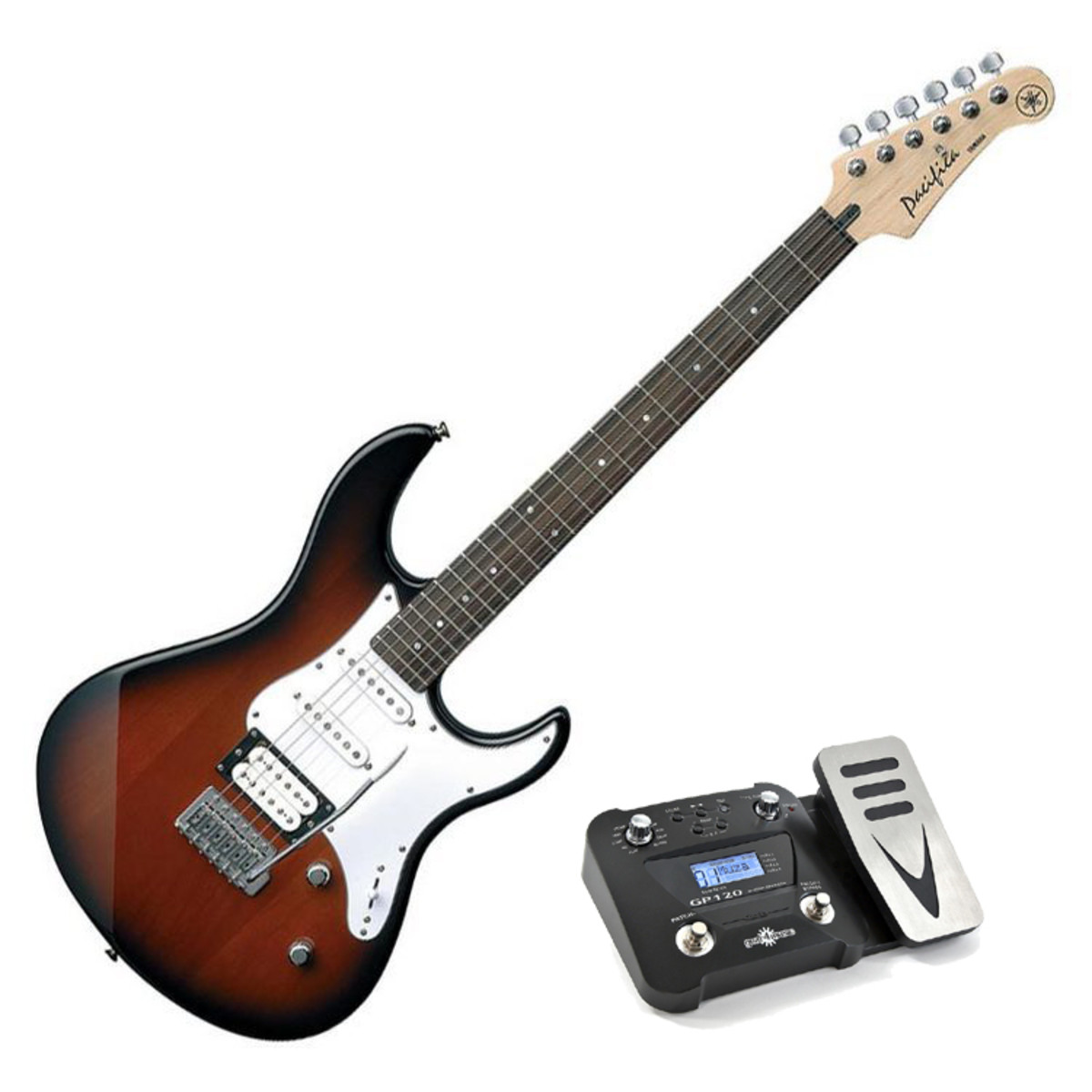 pack yamaha pacifica 112 v guitare lectrique sunburst. Black Bedroom Furniture Sets. Home Design Ideas