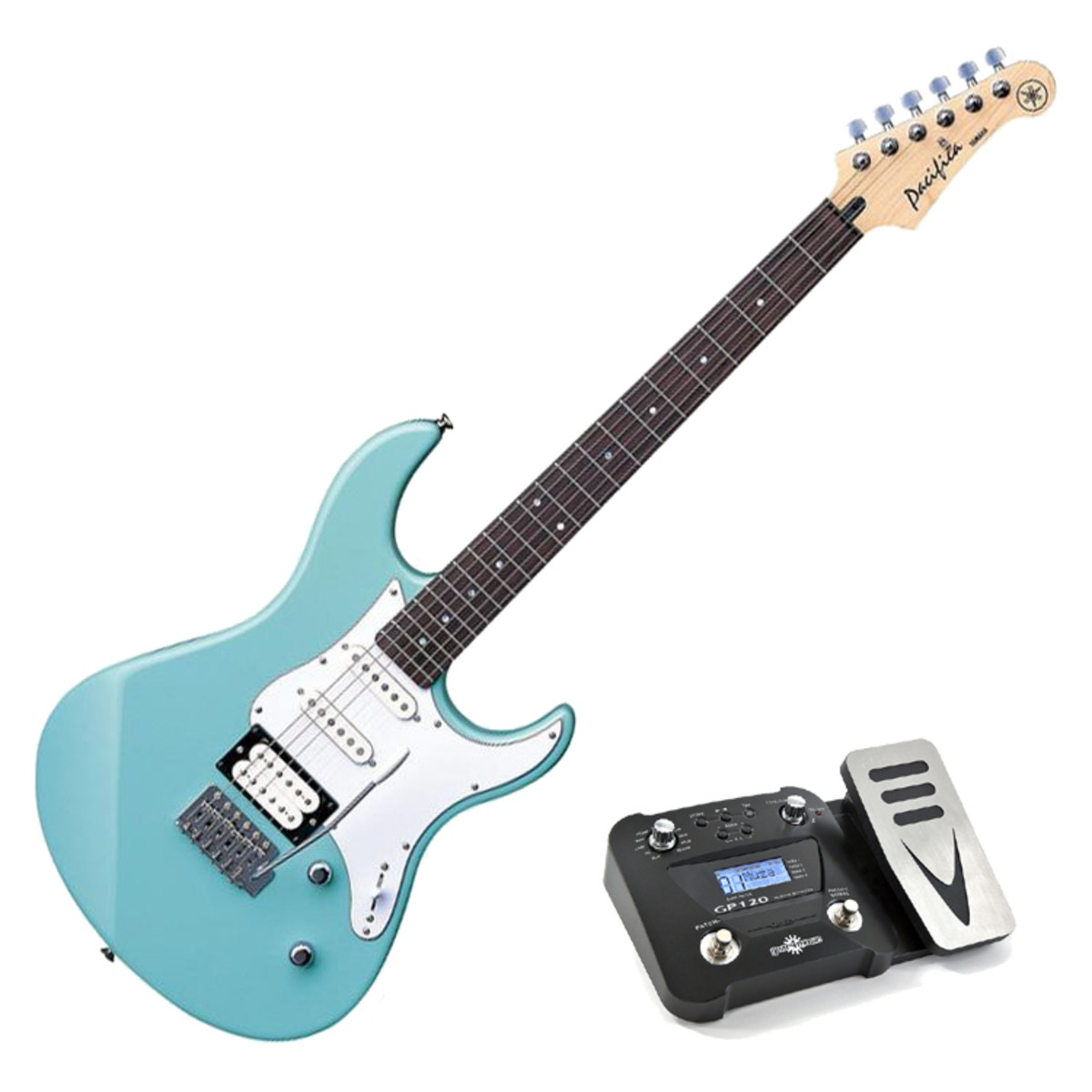 bcbdb5a0fb Yamaha Pacifica 112 V Electric Guitar, Sonic Blue, Pedal Pack. Loading  zoom. Yamaha Pacifica 112 ...