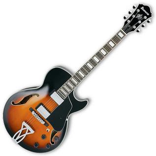 Ibanez AG75 Artcore Semi Acoustic Electric Guitar, Brown Sunburst