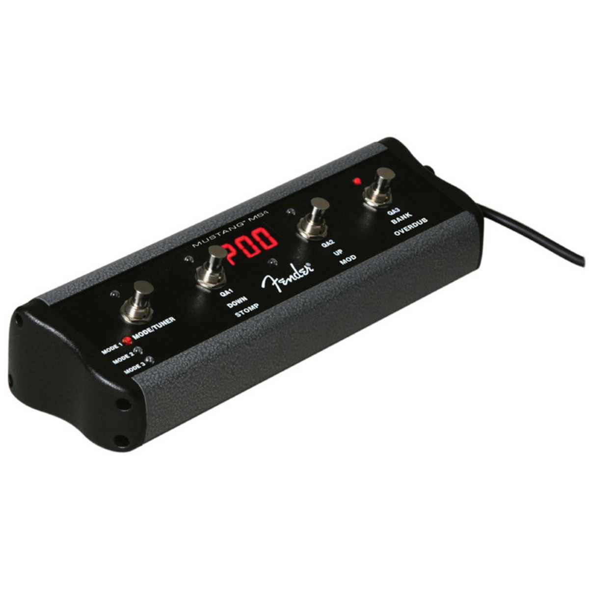 fender mustang 4 button footswitch at gear4music. Black Bedroom Furniture Sets. Home Design Ideas