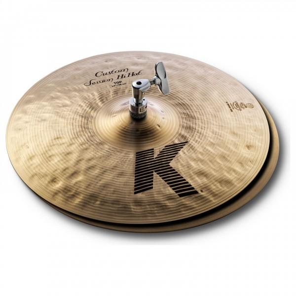 "Zildjian K Custom 14"" Session Hi-Hat Pair"
