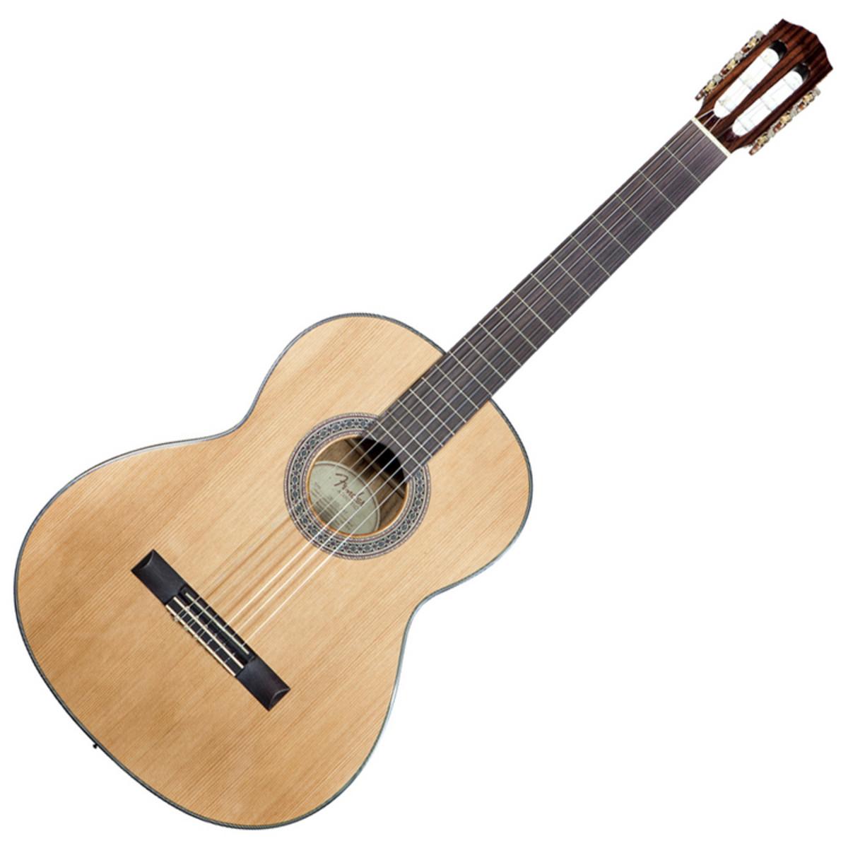 fender cn 140s guitare classique naturel. Black Bedroom Furniture Sets. Home Design Ideas