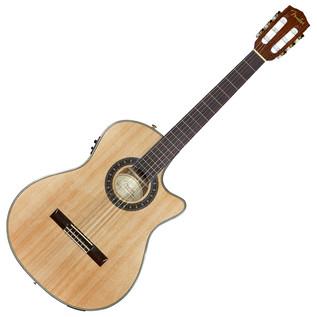 Fender CN-240SCE Thinline Classical Guitar, Natural