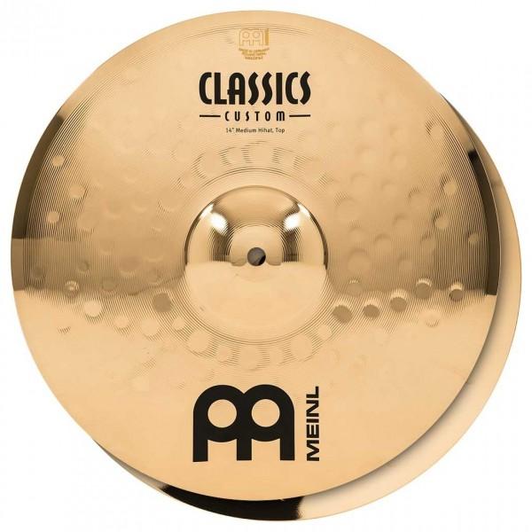"""Meinl Classics Custom 14"""" Medium Hi-Hat, Pair"""