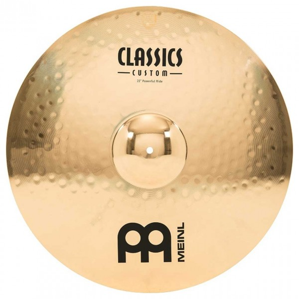 "Meinl Classics Custom 22"" Powerful Ride"