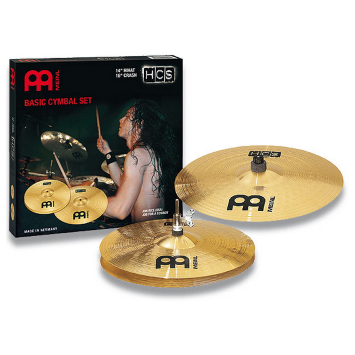 meinl hcs cymbal set hcs1416 at gear4music. Black Bedroom Furniture Sets. Home Design Ideas