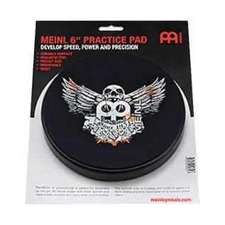 Meinl Practice Pad, 6 inch, Jawbreaker MPP6JB