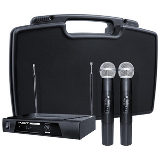 KAM KWM11 Dual Handheld Wireless Microphone System