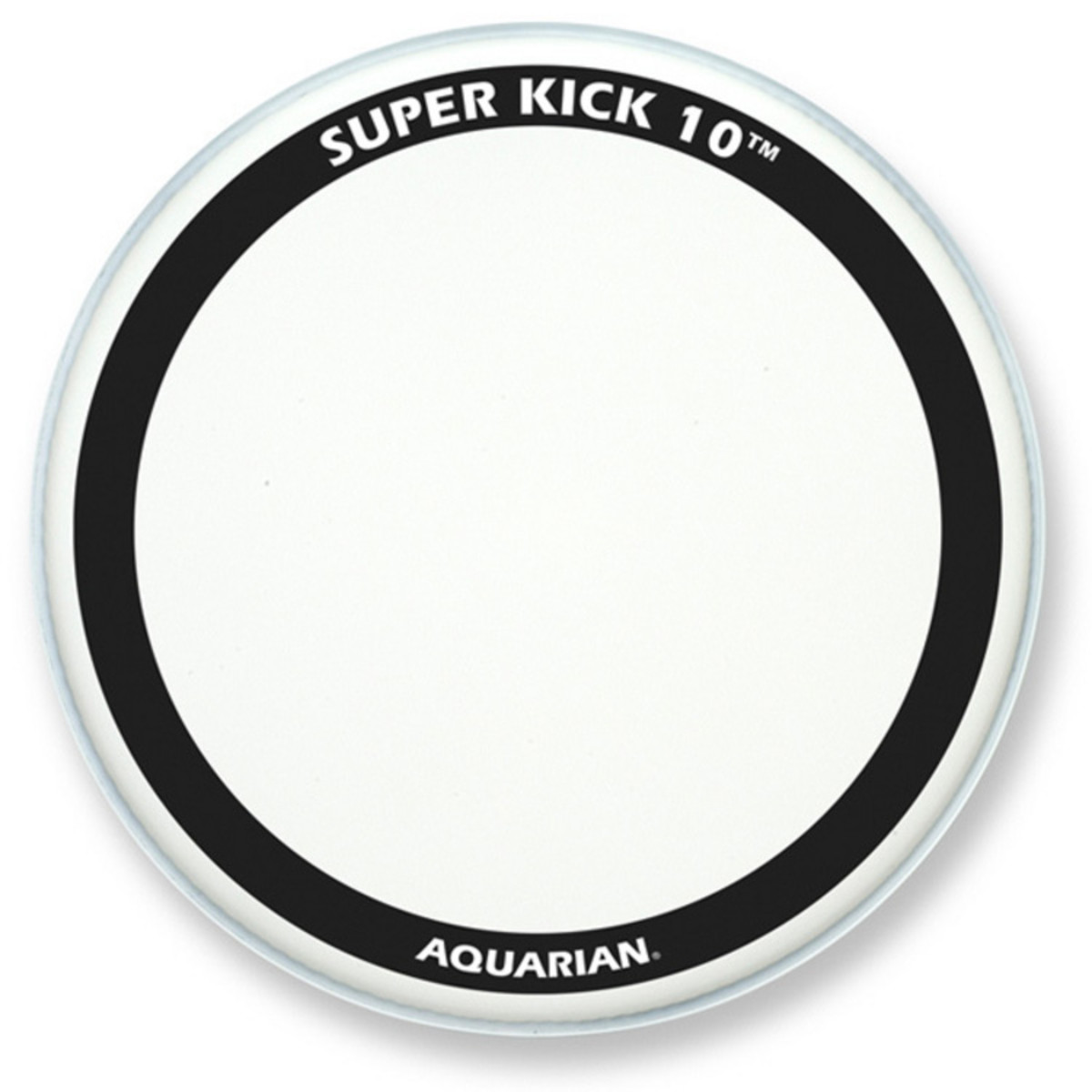 aquarian super kick 10 clear double ply 18 bass drum head at gear4music. Black Bedroom Furniture Sets. Home Design Ideas