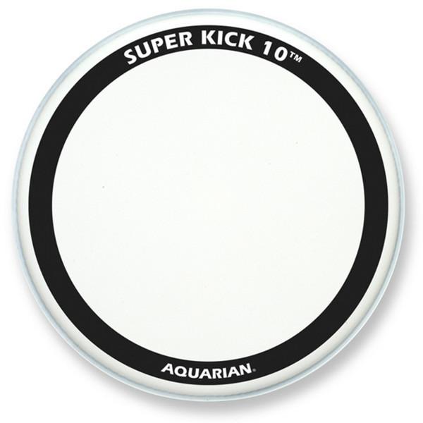 "Aquarian Super Kick 10 Clear Double Ply 18"" Bass Drum Head"