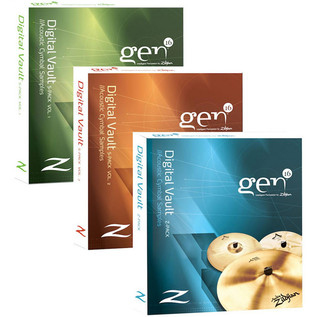 Gen16 by Zildjian Digital Vault Software Bundle