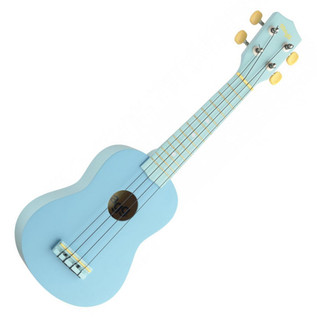 Stagg Soprano Ukulele & Bag, Ocean Blue
