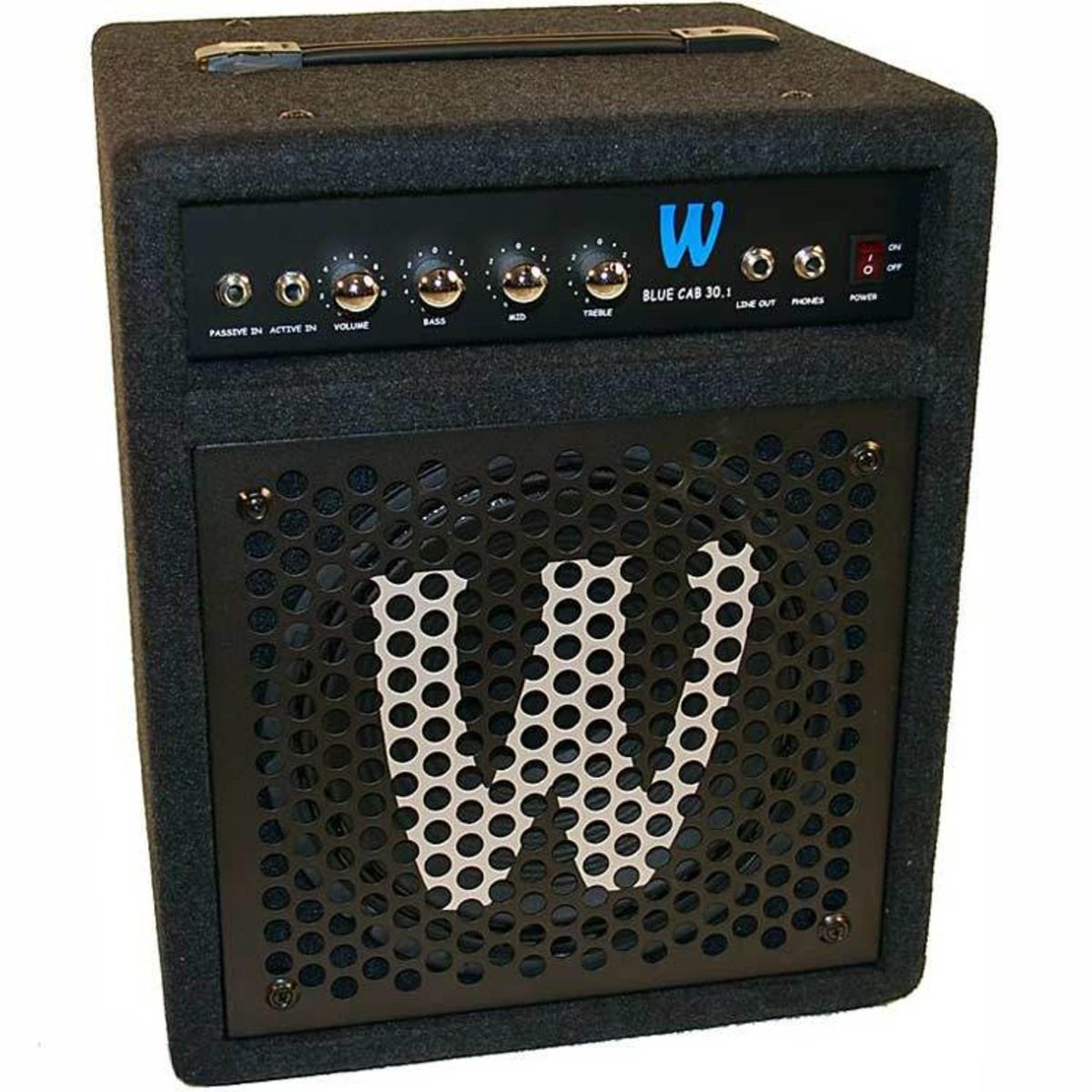 Warwick blau Cab 30,1 30 Watt Bass Combo Verstärker - neuwertig bei ...