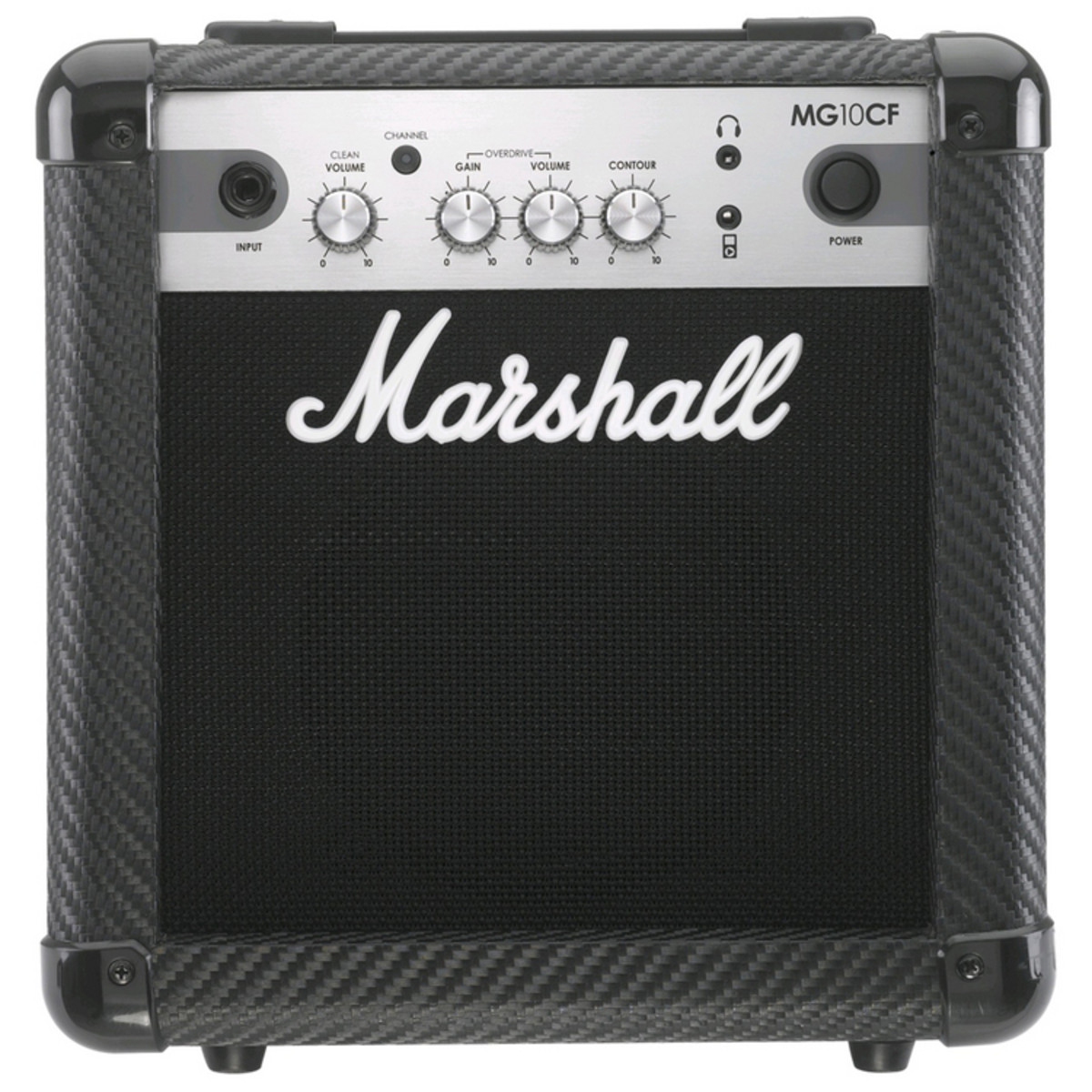 marshall mg10cf carbon fibre 10w guitar combo at gear4music. Black Bedroom Furniture Sets. Home Design Ideas