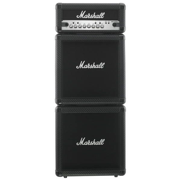 Marshall MG15CFXMS Carbon Fibre Microstack Head with 2 Cabinets