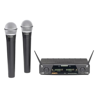 Samson Concert 277 Q7 Dual Channel Handheld Wireless System - E12