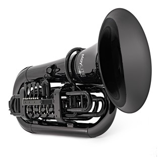 playLITE Hybrid Tuba by Gear4music, Black