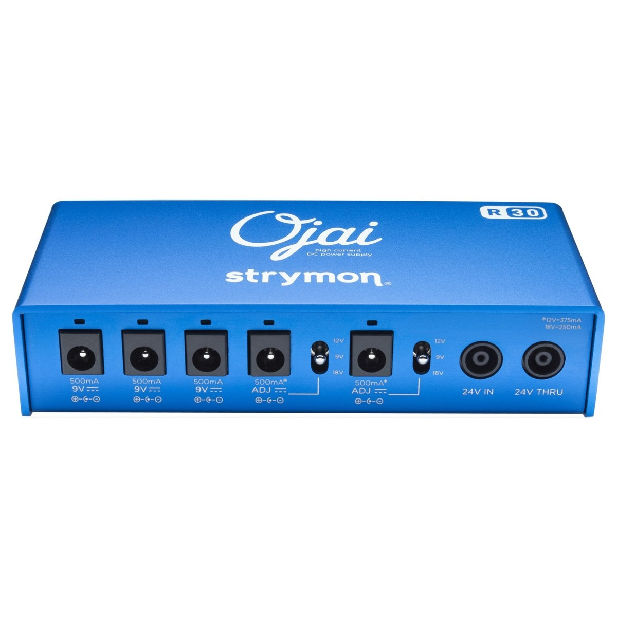 Strymon Ojai R30 Multi Power Supply At Gear4music 9v Voltage Regulator Circuit Besides Accordion Bass Diagram Of Piano