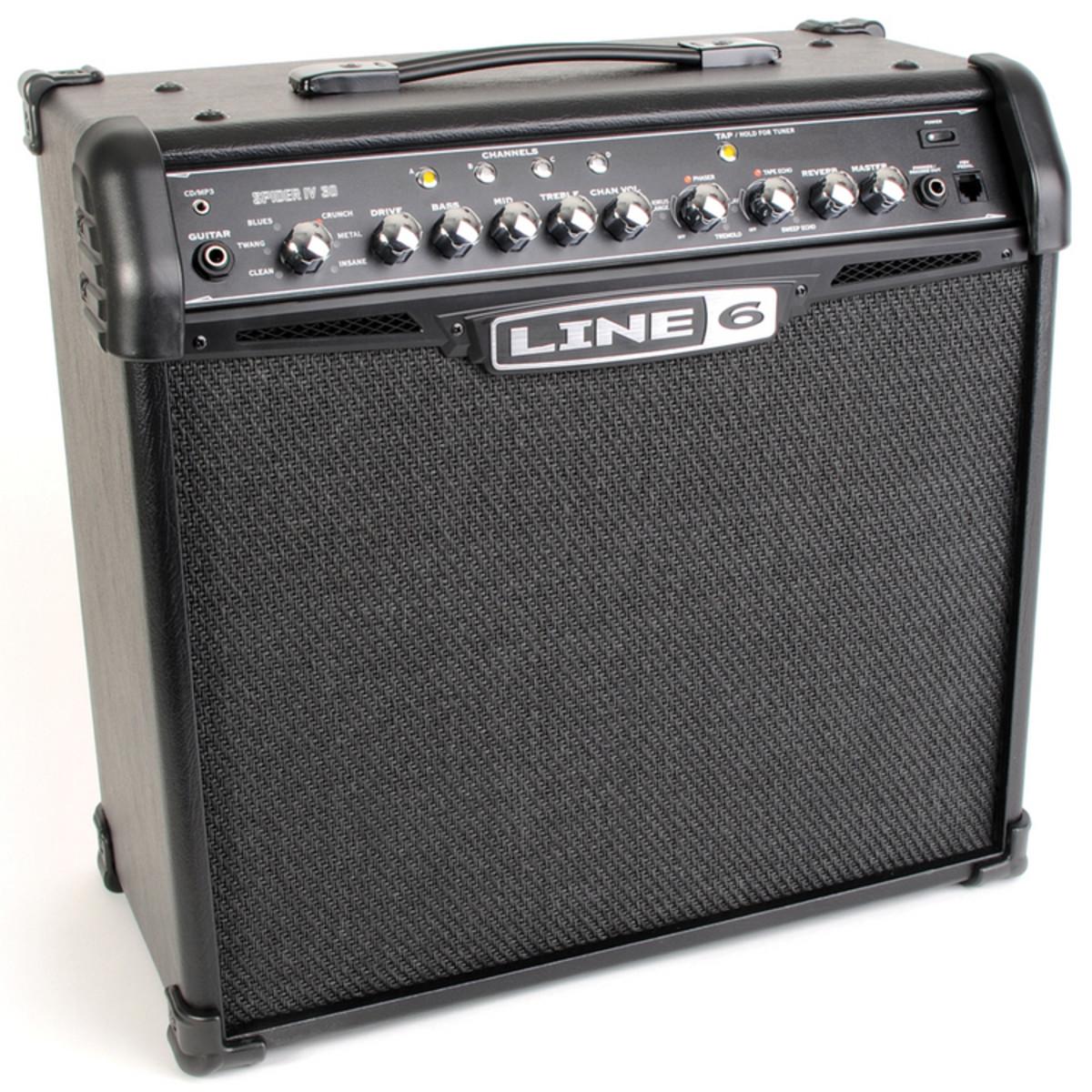line 6 spider iv 30 guitar combo amp b stock at gear4music. Black Bedroom Furniture Sets. Home Design Ideas