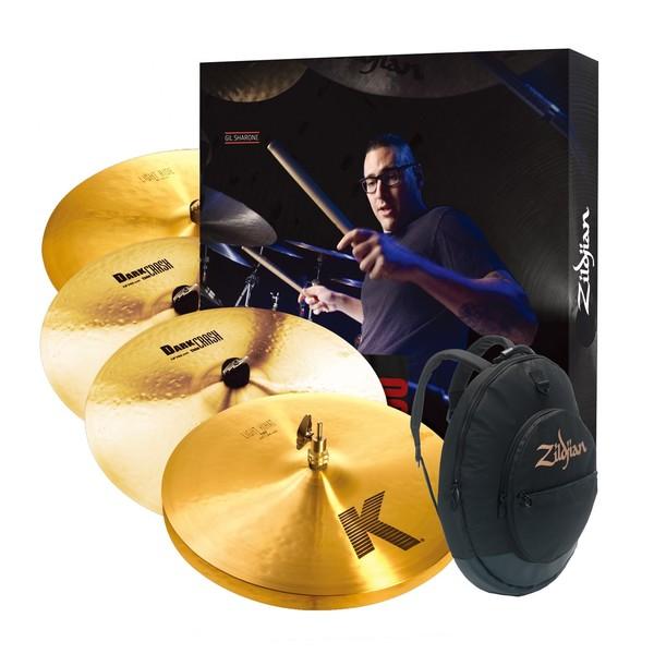 Zildjian K Cymbal Pack w/ Cymbal Gig Bag