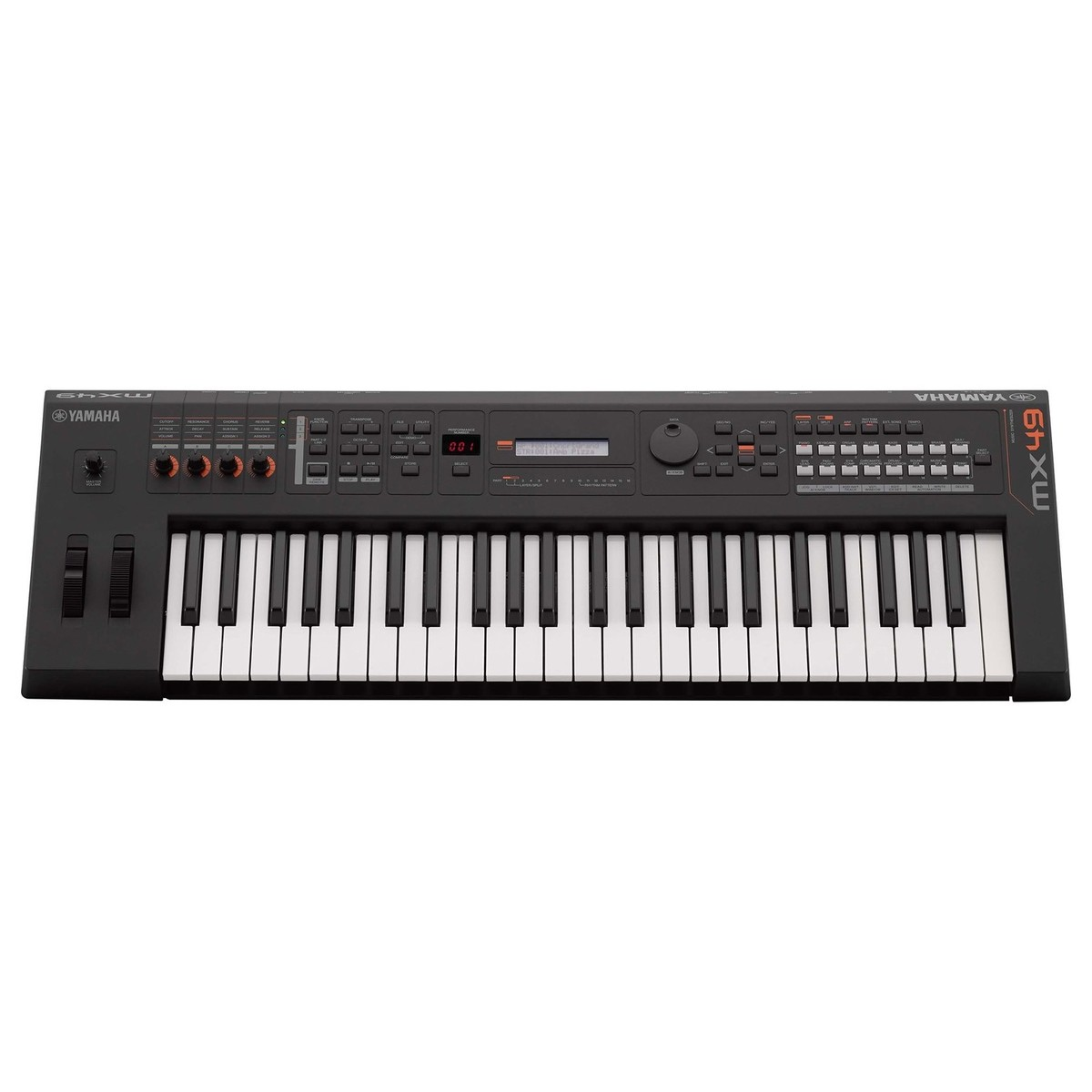yamaha mx49 ii music production synthesizer black b stock at gear4music. Black Bedroom Furniture Sets. Home Design Ideas