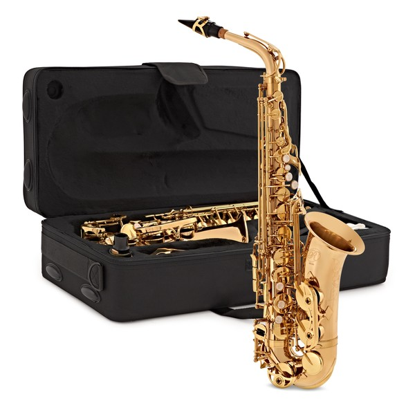 Rosedale Intermediate Alto Saxophone by Gear4music