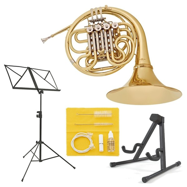 Student French Horn Beginner Pack by Gear4music
