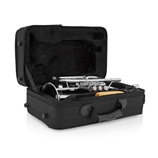 Coppergate Intermediate Cornet, Silver + Accessory Pack
