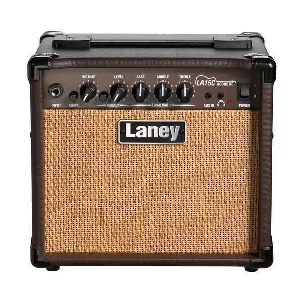 Laney LA15C LA 15W 2x5 Acoustic Combo Front View