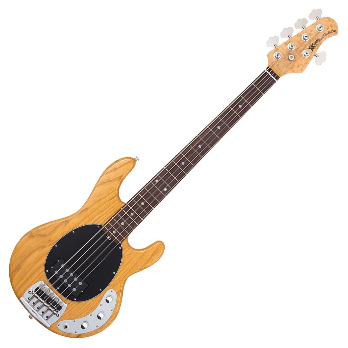 Music Man Stingray 5 Bass Rosewood Neck, Natural at ...