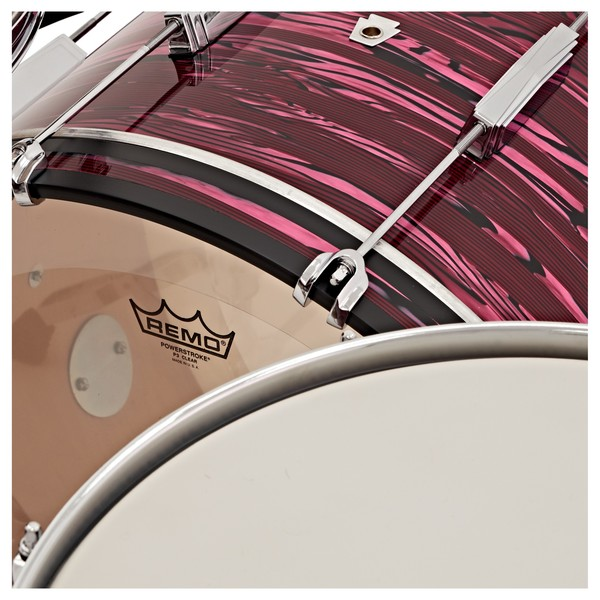 """Ludwig Club Date 22"""" Shell Pack, Ruby Strata w/ Free Matching Snare"""