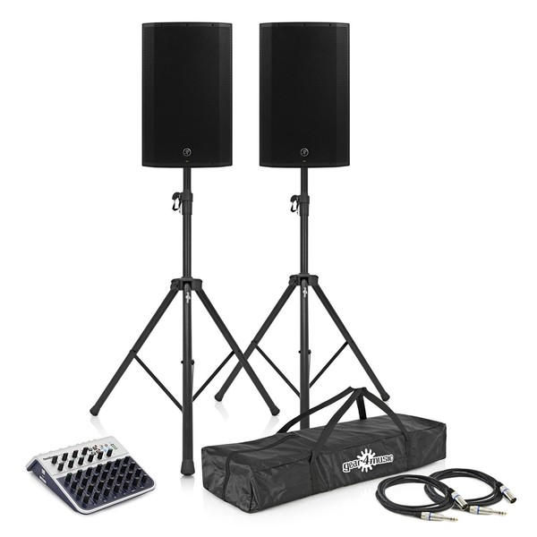 Mackie Thump15A Active PA Speaker Bundle